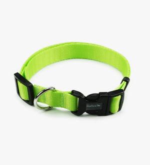 Obojek Hafco Neon - zelený