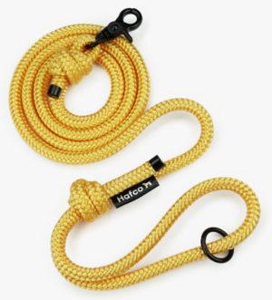 Vodítko Hafco Twist - yellow 120cm