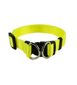obojek pro psa žlutý bezpečnostni